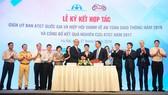 Lễ ký kết hợp tác giữa Ủy ban ATGT Quốc ga và hiệp hội VAMM về an toàn giao thông năm 2018