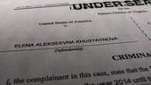 Bộ Tư pháp Mỹ công bố tài liệu buộc tội một công dân Nga can thiệp vào cuộc bầu cử Quốc hội Mỹ giữa nhiệm kỳ dự kiến diễn ra vào tháng 11 tới