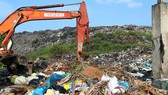 Bãi rác Cẩm Hà hiện đã quá tải
