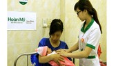 Cấp cứu kịp thời thai nhi ngôi ngược lọt nửa người ra ngoài