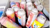 Nhiều loại bình gas mini cũ được tái sử dụng nhiều lần