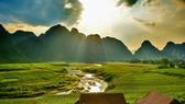 """Vẻ đẹp ở Tân Hoá, Quảng Bình, nơi được chọn ghi hình ảnh trong bộ phim bom tấn """"Kong: Đảo đầu lâu"""". Ảnh Oxalis"""
