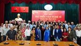 Chủ tịch Quốc hội Nguyễn Thị Kim Ngân gặp gỡ đại biểu văn nghệ sĩ khu vực phía Nam
