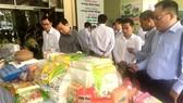 Sản phẩm nông nghiệp sạch của Đồng Tháp. Ảnh: CAO PHONG