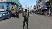 An ninh thắt chặt ở Sri Lanka. Nguồn: AP
