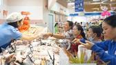 Sản phẩm nông sản sạch đang được cung ứng tại hệ thống siêu thị Co.opmart TPHCM