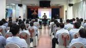 Tập huấn kỹ năng sơ cấp cứu ngoại viện cho người lao động