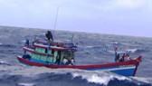 Tàu cá có thông tin sau 9 ngày mất liên lạc