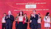 Công bố 500 doanh nghiệp lớn nhất Việt Nam năm 2018