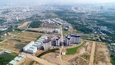 A real estate project carried out by Vietnamese firms in association with its Japanese partner in Binh Chanh District in Ho Chi Minh City. (Photo: SGGP)