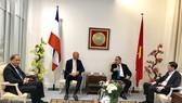 Bí thư Thành ủy TPHCM Nguyễn Thiện Nhân mong muốn tìm cách phát triển TPHCM nhanh, bền vững