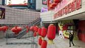 Neoglory Place mall, near Yiwu, has few customers and most shops have closed. JAMES T. AREDDY/THE WALL STREET JOURNAL