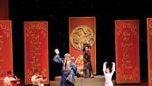 "A court in Thuong Duong, from the play ""Câu thơ yên ngựa"". (Photo: Hoang Hung)"