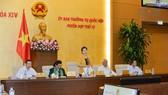 Chủ tịch Quốc hội Nguyễn Thị Kim Ngân phát biểu bế mạc phiên họp. Ảnh: quochoi.vn