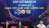 640 doanh nghiệp đạt chứng nhận Hàng Việt Nam chất lượng cao