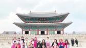 Đoàn khách TST tourist tại Hàn Quốc