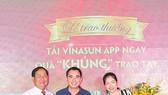 Anh Phạm Mạnh Cường, khách hàng may mắn trúng giải thưởng cao nhất của chương trình