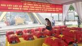 Lễ truy điệu và an táng 21 liệt sĩ hy sinh tại Lào. Ảnh: VOV
