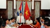 Chủ tịch UBND TPHCM Nguyễn Thành Phong:  Đẩy mạnh hợp tác giữa TPHCM và Cuba