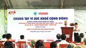 Ông Yang Kun Hsiang - Tổng Giám đốc Công ty CPHH Vedan Việt Nam phát biểu khai mạc chương trình
