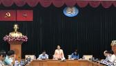 Phó Bí thư Thành ủy TPHCM Võ Thị Dung phát biểu tại buổi gặp gỡ
