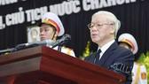Lời điếu tại Lễ truy điệu Chủ tịch nước Trần Đại Quang