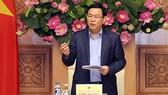 Phó Thủ tướng Vương Đình Huệ chủ trì cuộc họp xây dựng dự thảo Nghị quyết số 01/NQ-CP của Chính phủ