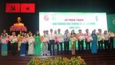 Các cá nhân và tập thể đạt Giải thưởng Môi trường TPHCM năm 2018