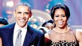 Vợ chồng ông Obama được người Mỹ ngưỡng mộ nhất năm