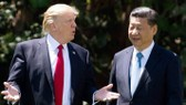 Tổng thống Mỹ Donald Trump (trái) và Chủ tịch Trung Quốc Tập Cận Bình - Ảnh: Getty.