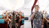 Hàng không Indonesia mang nhạc sống lên máy bay