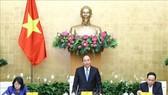 Thủ tướng Chính phủ Nguyễn Xuân Phúc chủ trì phiên họp Hội đồng Thi đua - Khen thưởng Trung ương. Ảnh: TTXVN