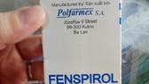 Thu hồi thuốc ho Fenspirol