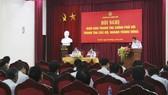 Hội nghị giao ban TTCP với thanh tra các bộ, ngành trung ương. Ảnh: Thanhtra
