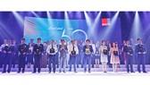 """Ông Phan Minh Tiên – Giám đốc Điều hành Vinamilk cùng các đại diện công ty được xếp hạng """"Top 50 công ty kinh doanh hiệu quả nhất Việt Nam"""""""