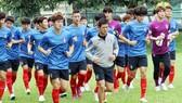 U23 Hàn Quốc là gương mặt quen thuộc khi không vắng mặt lần nào kể từ năm 1996 đến nay. Ảnh: T.L
