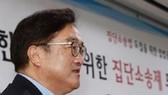 Lãnh đạo nhóm nghị sỹ của đảng Dân chủ cầm quyền của Hàn Quốc Woo Won-shik. Ảnh: YONHAP