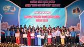 Lễ tuyên dương Người con hiếu thảo cấp thành phố năm 2017 tại TPHCM