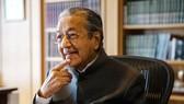 Cựu Thủ tướng Malaysia Mahathir Mohamad, tháng 4- 2017. Ảnh: BLOOMBERG