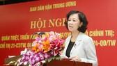 Quán triệt, tổ chức thực hiện các văn bản mới của Bộ Chính trị, Ban Bí thư về công tác dân vận