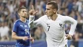 Antoine Griezmann ghi bàn nâng tỷ số 2 - 0 cho tuyển Pháp