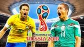 Neymar (trái) được kỳ vọng sẽ giúp Brazil vượt qua đối thủ Mexico