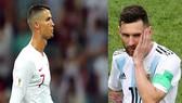 Hai siêu sao Ronaldo và Messi sớm chia tay World Cup 2018