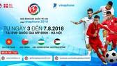 Lịch thi đấu Giải bóng đá quốc tế U23 - Cúp VinaPhone 2018: Việt Nam ra quân gặp Palestine