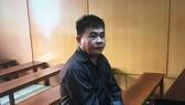 Bị cáo Phan Thế Hòa tại phiên tòa