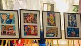 Những tác phẩm đoạt giải cao tại Cuộc thi. Ảnh: T.P