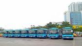 Tuyến buýt 109 có lộ trình Bến xe Mỹ Đình-Sân bay Nội Bài giá vé là 8.000 đồng/lượt. Ảnh: Transerco cung cấp