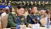 Đại tướng, Bộ trưởng Quốc phòng Việt Nam Ngô Xuân Lịch tham dự Diễn đàn. Ảnh: TTXVN