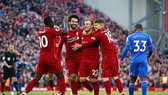 Liverpool trong chiến thắng 4 - 1 trước Cardiff