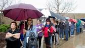 Cử tri Mỹ đi bỏ phiếu ở Virginia
